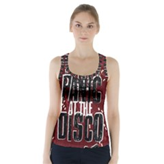 Panic At The Disco Poster Racer Back Sports Top