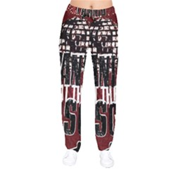 Panic At The Disco Poster Drawstring Pants