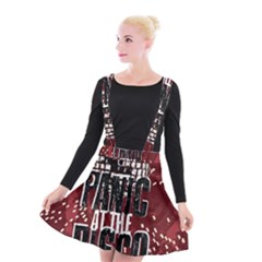 Panic At The Disco Poster Suspender Skater Skirt
