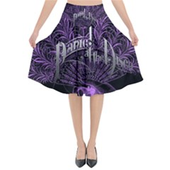 Panic At The Disco Flared Midi Skirt
