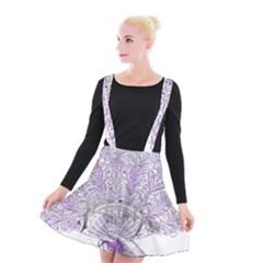 Panic At The Disco Suspender Skater Skirt
