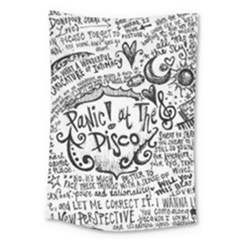 Panic! At The Disco Lyric Quotes Large Tapestry