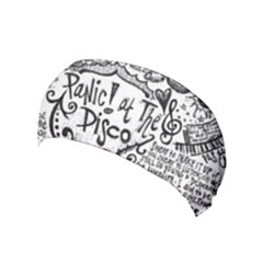 Panic! At The Disco Lyric Quotes Yoga Headband