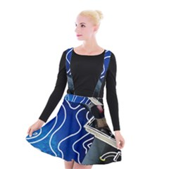 Panic! At The Disco Released Death Of A Bachelor Suspender Skater Skirt