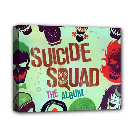 Panic! At The Disco Suicide Squad The Album Deluxe Canvas 14  x 11