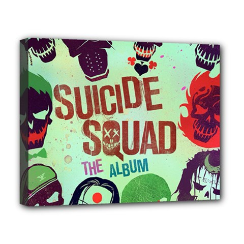Panic! At The Disco Suicide Squad The Album Deluxe Canvas 20  x 16