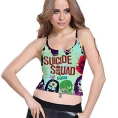 Panic! At The Disco Suicide Squad The Album Spaghetti Strap Bra Top
