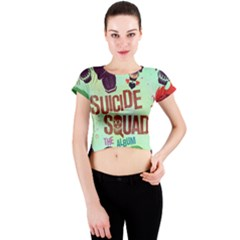 Panic! At The Disco Suicide Squad The Album Crew Neck Crop Top