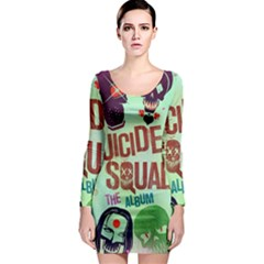 Panic! At The Disco Suicide Squad The Album Long Sleeve Bodycon Dress