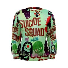 Panic! At The Disco Suicide Squad The Album Women s Sweatshirt