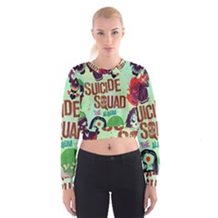 Panic! At The Disco Suicide Squad The Album Cropped Sweatshirt