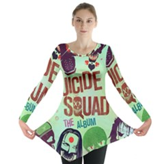 Panic! At The Disco Suicide Squad The Album Long Sleeve Tunic