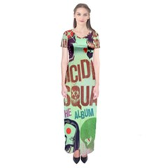 Panic! At The Disco Suicide Squad The Album Short Sleeve Maxi Dress