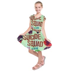 Panic! At The Disco Suicide Squad The Album Kids  Short Sleeve Dress