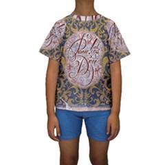 Panic! At The Disco Kids  Short Sleeve Swimwear