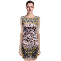 Panic! At The Disco Classic Sleeveless Midi Dress