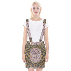 Panic! At The Disco Braces Suspender Skirt