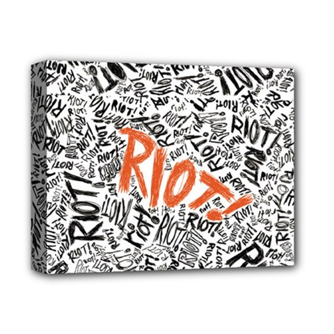 Paramore Is An American Rock Band Deluxe Canvas 14  x 11