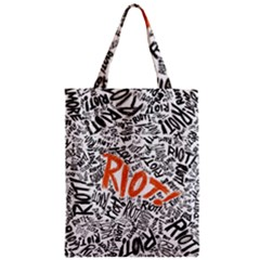 Paramore Is An American Rock Band Zipper Classic Tote Bag