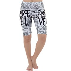Pierce The Veil Music Band Group Fabric Art Cloth Poster Cropped Leggings
