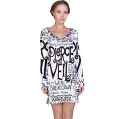Pierce The Veil Music Band Group Fabric Art Cloth Poster Long Sleeve Nightdress