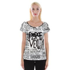 Pierce The Veil Music Band Group Fabric Art Cloth Poster Women s Cap Sleeve Top