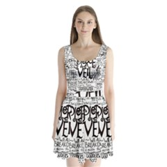 Pierce The Veil Music Band Group Fabric Art Cloth Poster Split Back Mini Dress