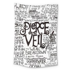 Pierce The Veil Music Band Group Fabric Art Cloth Poster Large Tapestry