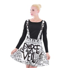 Pierce The Veil Music Band Group Fabric Art Cloth Poster Suspender Skater Skirt