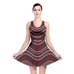 Abstraction Reversible Skater Dress