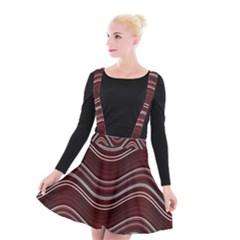 Abstraction Suspender Skater Skirt