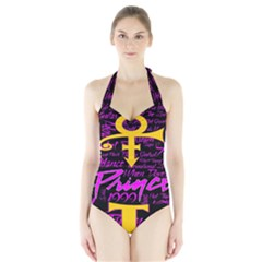 Prince Poster Halter Swimsuit