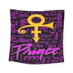 Prince Poster Square Tapestry (small)