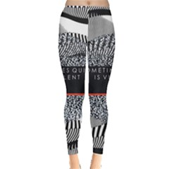 Sometimes Quiet Is Violent Twenty One Pilots The Meaning Of Blurryface Album Leggings