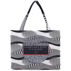 Sometimes Quiet Is Violent Twenty One Pilots The Meaning Of Blurryface Album Mini Tote Bag