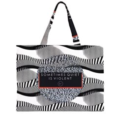Sometimes Quiet Is Violent Twenty One Pilots The Meaning Of Blurryface Album Large Tote Bag