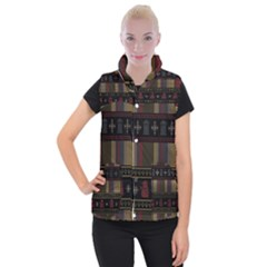 Tardis Doctor Who Ugly Holiday Women s Button Up Puffer Vest