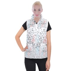Twenty One Pilots Birds Women s Button Up Puffer Vest