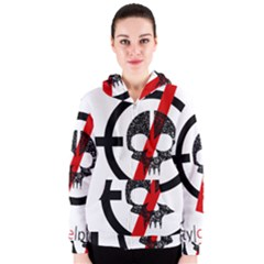 Twenty One Pilots Skull Women s Zipper Hoodie