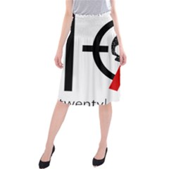Twenty One Pilots Skull Midi Beach Skirt