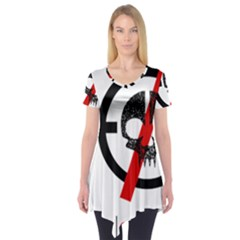 Twenty One Pilots Skull Short Sleeve Tunic
