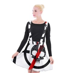 Twenty One Pilots Skull Suspender Skater Skirt