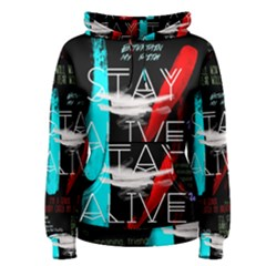 Twenty One Pilots Stay Alive Song Lyrics Quotes Women s Pullover Hoodie