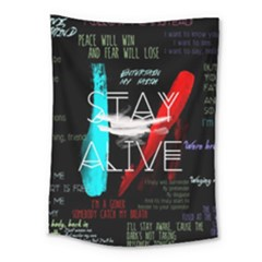 Twenty One Pilots Stay Alive Song Lyrics Quotes Medium Tapestry