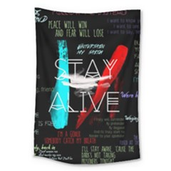 Twenty One Pilots Stay Alive Song Lyrics Quotes Large Tapestry