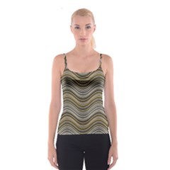 Abstraction Spaghetti Strap Top