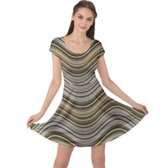 Abstraction Cap Sleeve Dresses