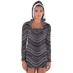 Abstraction Women s Long Sleeve Hooded T-shirt