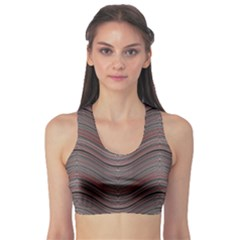 Abstraction Sports Bra