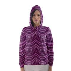 Abstraction Hooded Wind Breaker (Women)